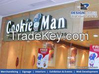 ACP sign boards designers in Delhi | Design House India Private Limited