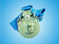 Marathon Running Winner  Alloyed Metal Medals