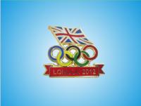 London Olympic Games 2012 UK Flag Chest Badge