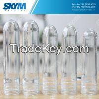 New 100% Transparent Plastic PET Drinking Bottle Preforms