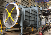 Large Steel Structure duct system for power plant