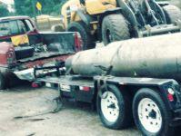 Titanium scrap (9 tons)