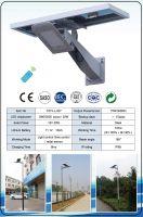 Solar street lights in CE certificate