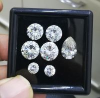 Super White Moissanite Diamond
