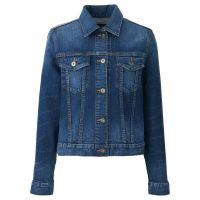 fashion men plain denim jacket slim fit quilted jackets