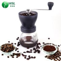 factory price black brown lemon green great manual coffee grinder mill