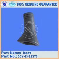 sell PC200-8 boot 20Y-43-22370 operator's cabin parts for excavator gear lever boot(Email:bj-*****