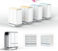 intelligent electronic locker for medicine in nursing hospital