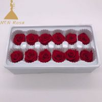 Grade A Real Touch Wedding Flowers with Glitter Colors