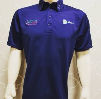 Navy Blue Q Polo Shirt.