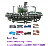 24/36 mold station pu shoe machine sole insole molding machine with rotary production line