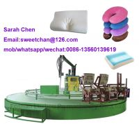 memory pillow memory foam injection machine with automatic production line