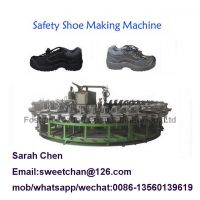 PU footwear machine Polyurethane safety shoes/boots injection making machine