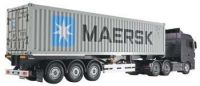 """Tamiya 1/14 scale """"40-Foot"""" Container Semi-Trailer TAM56326"""