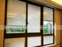 Shutters, window shade, window shutters, double glazed unit with an integrated screenline blind