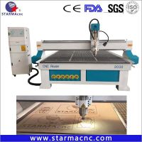 Best High Speed CNC Router 3D CNC Cutting / Milling Machine for Wood