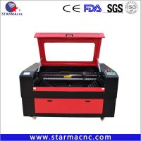ShangHai Fulong Belt transmission co2 laser cutting engraving machine