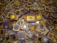Cpu Ceramic Processor Scrap (486 & 386 CPU SCRAP)