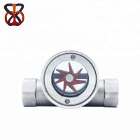 1/4'' to 4'' Stainless Steel Water Sight Glass Flow Meter Indicator