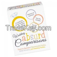 Hens Night Games - Wedding Absurd Comparison Game at A$18.95