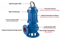 High quality sewage water pump