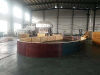 Plywood Round Column Form System, Concrete column formwork