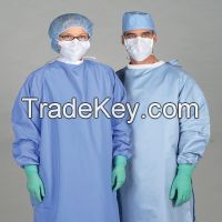 Disposable Non-woven Operating Coat Surgical Gown