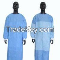Single Use Reinforced Hospital Uniform Surgical Gown