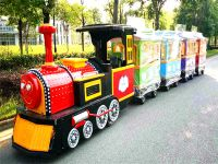 Sightseeing Train Electric Tourist Train,قطار أطفال,قطار للتسوق