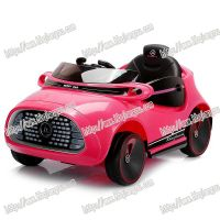 cute model colorful appearance bluetooth and remote control children ride car