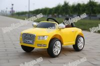 plastic friction power professional design fashion model remote control kids electric toy car
