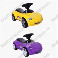 colorful style early education music kids ride toys baby swing car