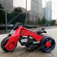 cool modeling bright color children pedal rechargeable remote control kids electric motorcycle