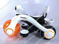 cool modeling double drive bright light bluetooth remote control kids electric motorcycle