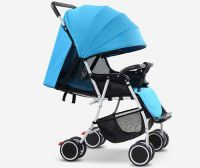 special design 4 wheels Baby Stroller with Seat 360 Degree Rotation
