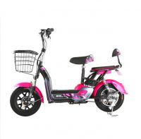 Adult Electric Bike with Basket Pedal 1: 1 PAS Moped Electric Scooter