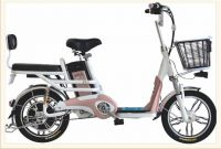 High Performance Speed Changeable Pedal Assisted Family Electric Bike Two Wheel