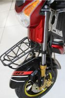 Color Electric Moped Scooter Rear Brake with Lock 60km Range Distance