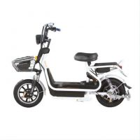 Colorful Electric City Bike, Electric Scooters and Bikes with Pulley Hilight / LED Headlight