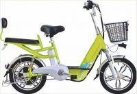 Speed Changeable Pedal Assisted Family Electric Bike Woman City Electric Bike with Fron and Rear Suspension
