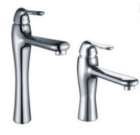 Wholesale brass basin faucet cold and hot water bathroom sink mixer tap