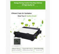 House ventilation system LT-VA250 high heat recovery air exchanger system