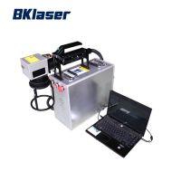 20W 30W 50W Portable Handheld Fiber Laser Marking Machine for Metal
