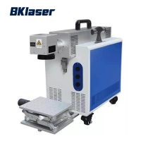 CO2 Laser Marking Machine for Paper /Cloths /Pipe /Plastic /Tag