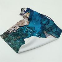 Microfiber Lens Cleaning Cloths with full color printing