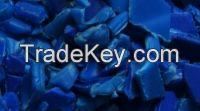 HDPE BLUE DRUM FLAKE