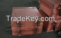 Copper Cathodes 99.99% Available for sale