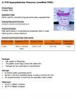 PCE superplasticizer monomer slump retention liquid powder accelerator air entraining monomer