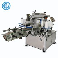 Automatic Double Side Labeling Machine For Square Bottle