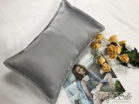 16mm mulberry silk pillowcase with zipper opening high quality low MOQ